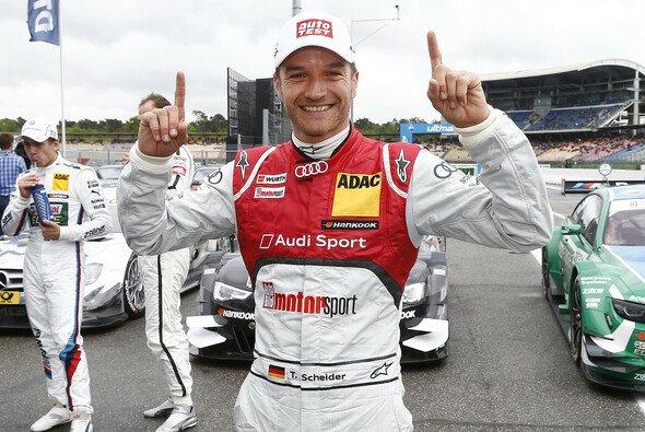 Timo Scheider: Erstes Rennen, erste Pole - Foto: Audi
