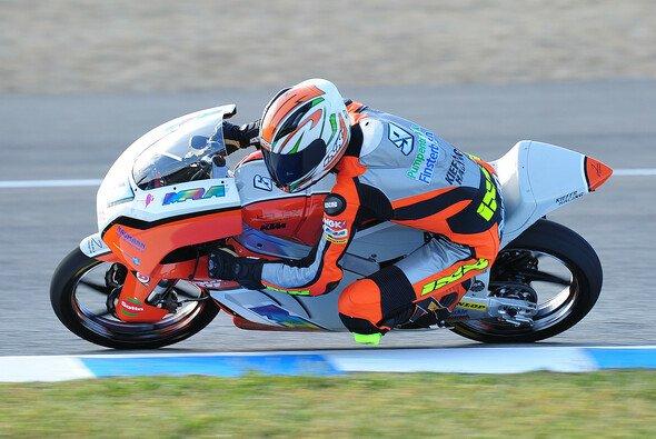 Toni Finsterbusch versucht, das Rennen in Spanien und die kommenden Grands Prix ruhig anzugehen