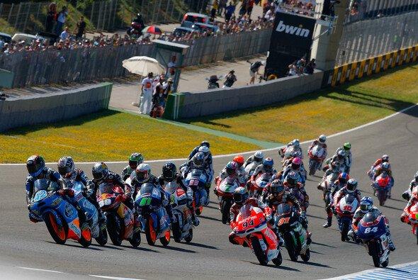 Die Moto3 ist stets Garant für spannende Rennen