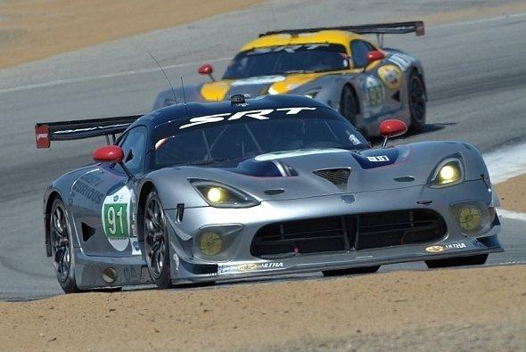 Jonathan Bomarito bescherte der SRT Viper GTS-R die erste Pole Position