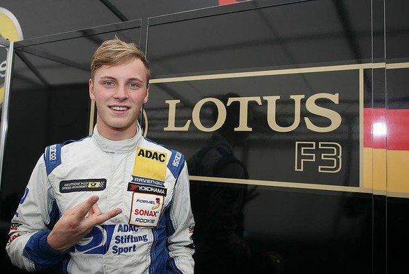 Marvin Kirchhöfer steigt als amtierender Meister des ADAC Formel Masters in den Formel 3 Cup auf