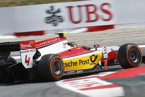 Daniel Abt hatte einen kniffligen Start in seine erste GP2-Saison