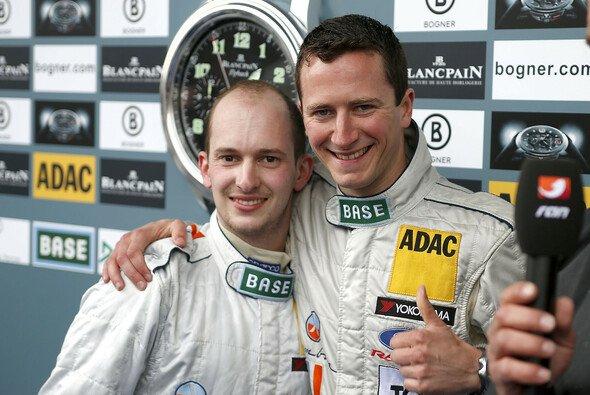 Frak Kechele (links) hat 2013 schon in Spa-Francorchamps gewinnen können