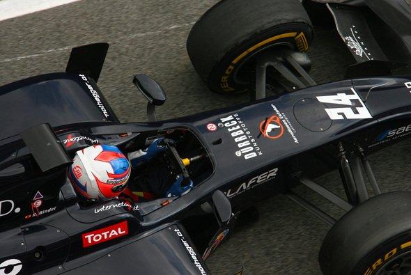 Rene Binder erwartet in Silverstone ein schwieriges Wochenende