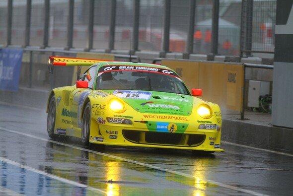 Für Porsche lief es nach der Regenunterbrechung nicht mehr rund - Foto: Patrick Funk