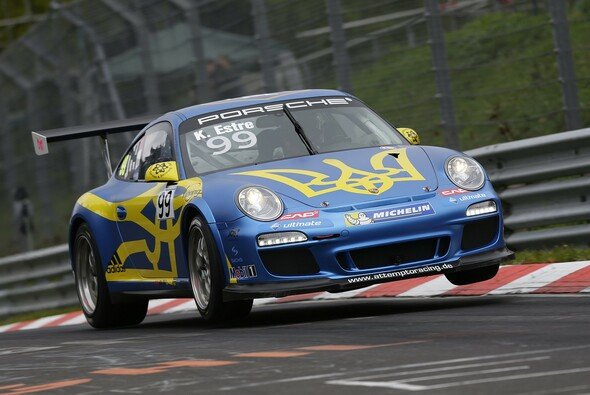 Carrera Cup-Spitzenreiter Kévin Estre am Nürburgring