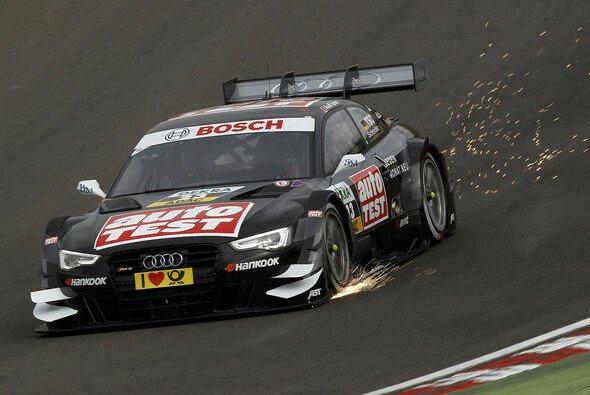 Back in black: Timo Scheider fährt dieses Jahr wieder seinen schwarzen Audi - Foto: DTM
