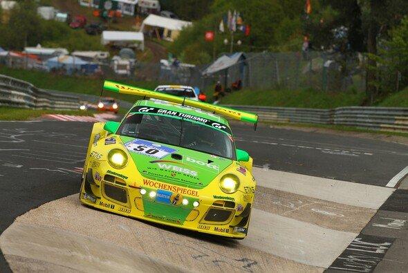 Richard Lietz erreichte im Manthey-Porsche den elften Rang - Foto: Patrick Funk