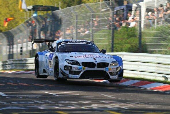 Der BMW Z4 GT3 ist ein regelmäßiger Gast auf dem Nürburgring