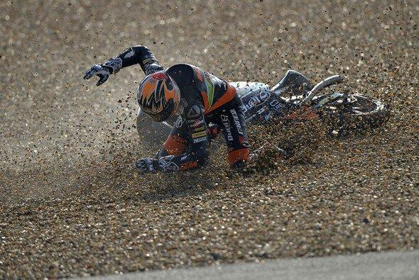 Nicht alle Stürze der Moto3 gingen glimpflich aus