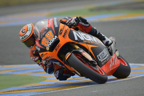Ricky Cardus im Vorjahr beim Frankreich-GP der Moto2 in Diensten von Forward Racing