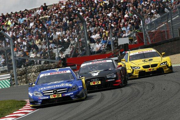 Die DTM fuhr von 2006 bis 2013 acht Rennen in Brands Hatch - Foto: Mercedes-Benz