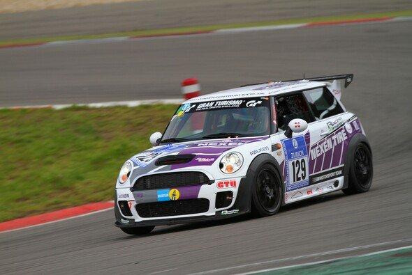 Der Nexen-Mini kam beim 24-Stunden-Rennen ins Ziel