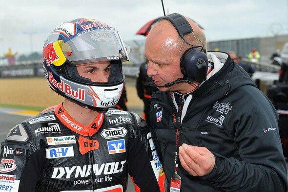 Sandro Cortese musste in seinem ersten Moto2-Jahr eine Menge lernen