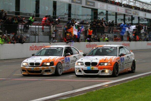 rent2Drive-racing brachte beide BMW über die Ziellinie - Foto: Patrick Funk
