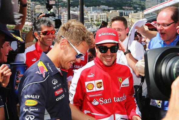 Sebastian Vettel oder Fernando Alonso: Wer hat in Monaco die Nase vorne? - Foto: Red Bull
