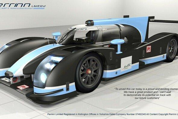 Einer von drei neuen privaten LMP1-Prototypen für 2014? Noch sucht Perrinn Ltd. Kunden.