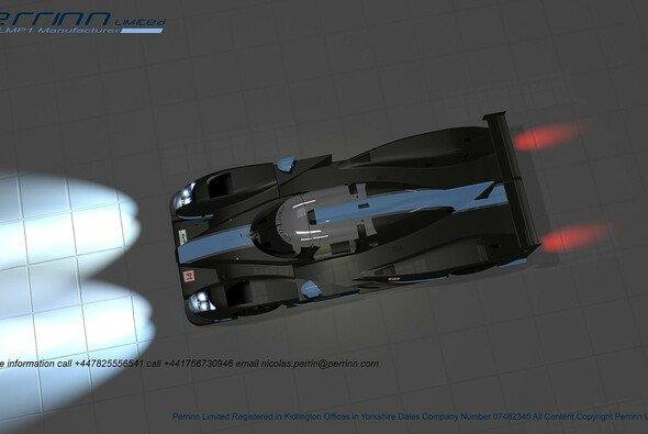 Das Konzeptfahrzeug hört vorerst auf den Namen 'Perrinn LMP1' - Foto: Perrinn
