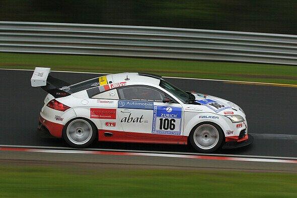 Brandl Motorsport brachte den Audi TT-RS auf Rang zwei ins Ziel - Foto: Brandl Motorsport