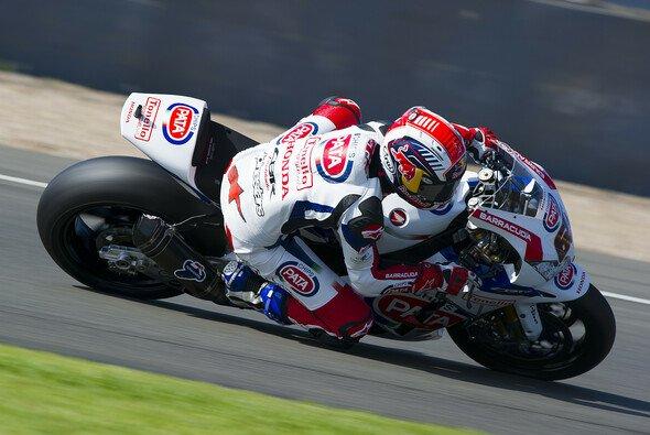 Jonathan Rea fuhr am Freitagnachmittag die schnellste runde - Foto: Honda