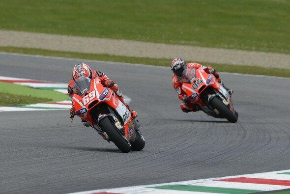 In Mugello fuhren Andrea Dovizioso und Nicky Hayden auf die Ränge fünf und sechs