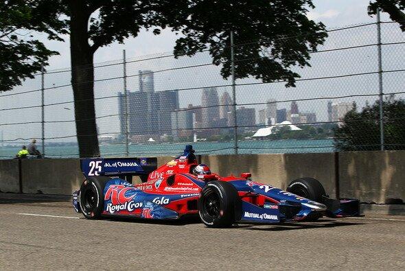 Marco Andretti war im ersten Texas-Training schon wieder schnell unterwegs
