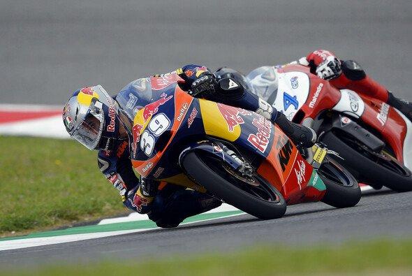 Luis Salom konnte ein spannendes Moto3-Rennen knapp für sich entscheiden