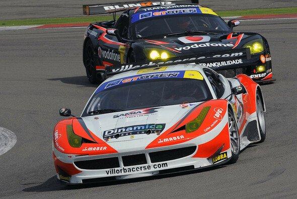 In der BES eine Macht, in der BSS eine Seltenheit: Ferrari 458 Italia GT3 (hier auch von Villorba Corse)