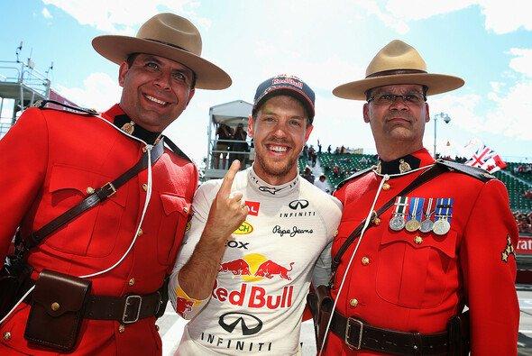 Sebastian Vettel freut sich auf Kanada