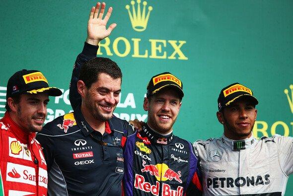 Alonso, Vettel, Hamilton - wer hat heute Grund zum Strahlen? Hier erfahrt ihr es auf jeden Fall...
