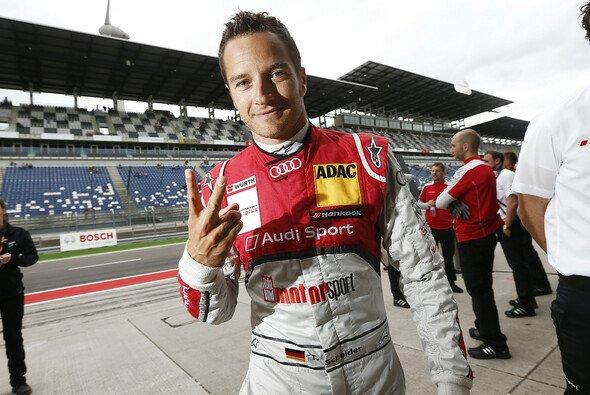Schon lange dabei: Routinier Timo Scheider setzt sich gerne für die Belange der DTM-Fahrer ein - Foto: Audi