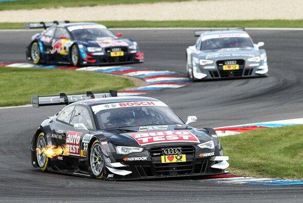 Timo Scheider will der Konkurrenz davonfahren - nicht nur der internen bei Audi - Foto: RACE-PRESS