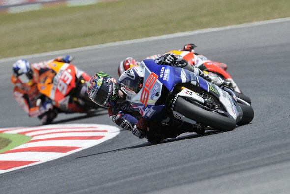 Fünf MotoGP-Rennen gewann Lorenzo bereits in Barcelona - Foto: Bridgestone