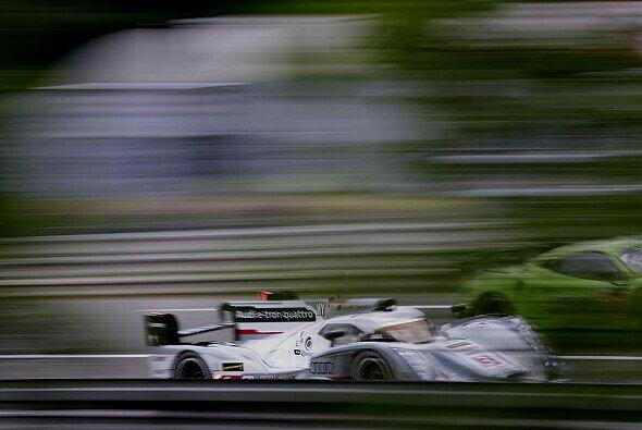 Lucas di Grassi ist erstmals in Le Mans