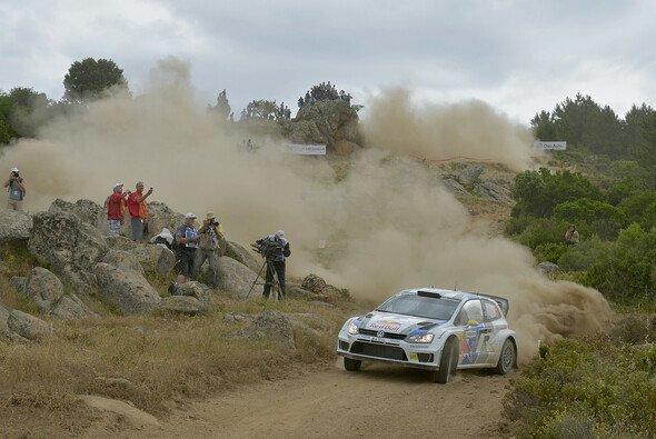 Rund 50 km vor dem Ende der Rallye ist für Andreas Mikkelsen alles aus