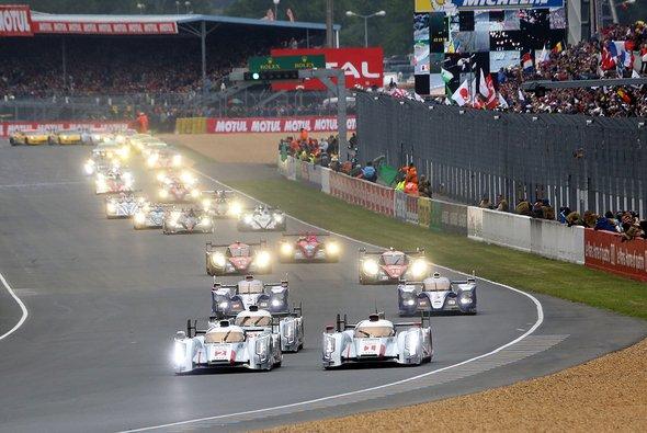 Drei Hersteller kämpfen 2014 um die Le-Mans-Krone - Foto: Speedpictures