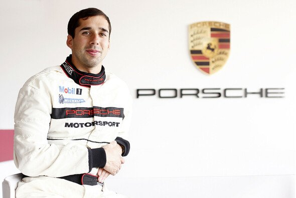 Neel Jani im Rennanzug des Porsche-Motorsport-Teams - Foto: Porsche