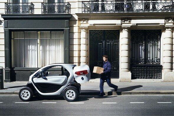 Der Renault Twizy Cargo verfügt über eine extra Ladefläche - Foto: Renault