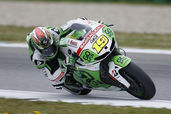 Alvaro Bautista brachte seine Honda auf Rang sieben ins Ziel