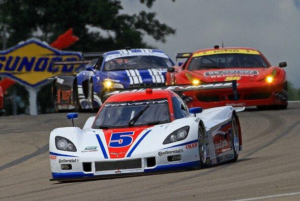 Vorneweg: Fittipaldis und Barbosas Daytona-Prototyp in Watkins Glen