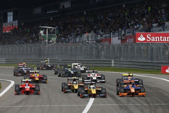 Die GP2 fährt auch 2014 im Rahmen der Formel 1