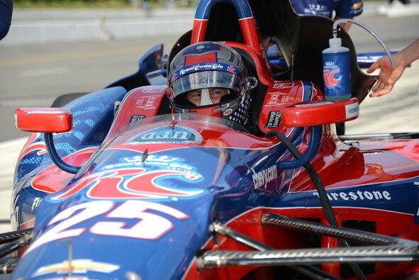 Marco Andretti sicherte sich den Platz an der Sonne