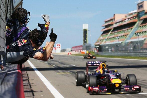 Sebastian Vettel fuhr den Silberpfeilen in Deutschland um die Ohren