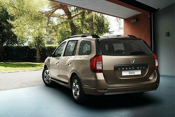 Das Design des Dacia Logan MCV lehnt sich stark an das des Sandero an - Foto: Dacia
