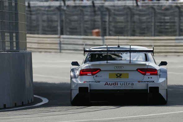 Adrien Tambay bildete die Audi-Speerspitze im Training