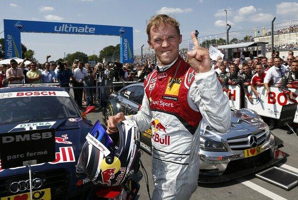 Mattias Ekström: Nicht mehr der Jüngste, aber noch mit der Witzigste im DTM-Fahrerlager