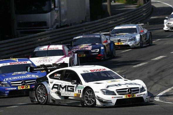 Das Rennen auf dem Norisring war für den Mercedes-Youngster vorzeitig beendet