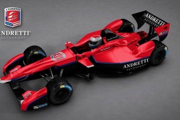 So soll der Renner von Andretti Autosport aussehen