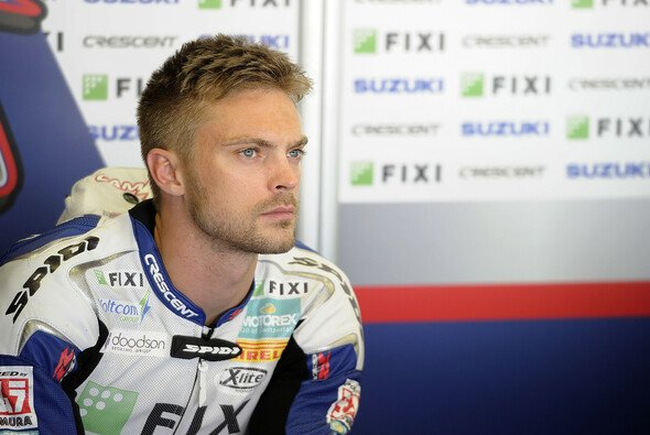 2013 war Camier noch für Suzuki in der Superbike-WM im Einsatz