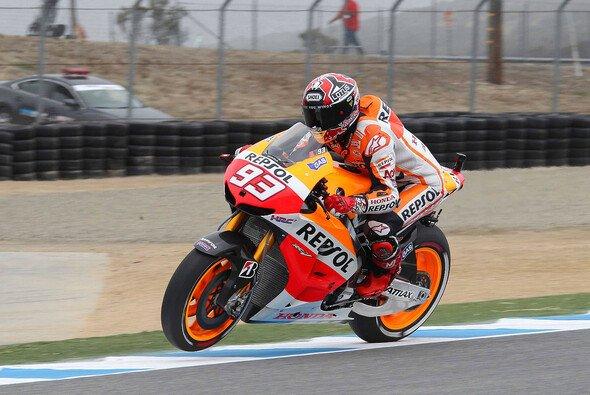 Marc Marquez fuhr erneut Bestzeit - Foto: Repsol Honda